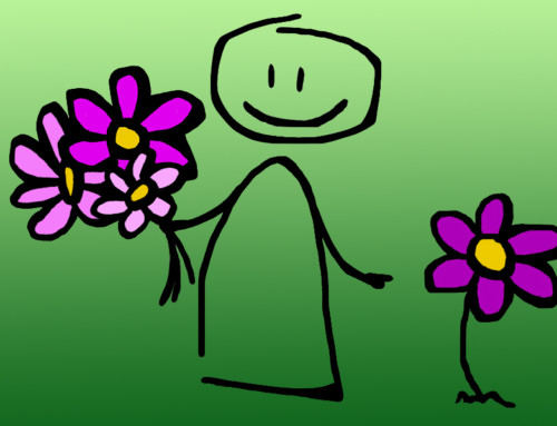Blumen für Kinder