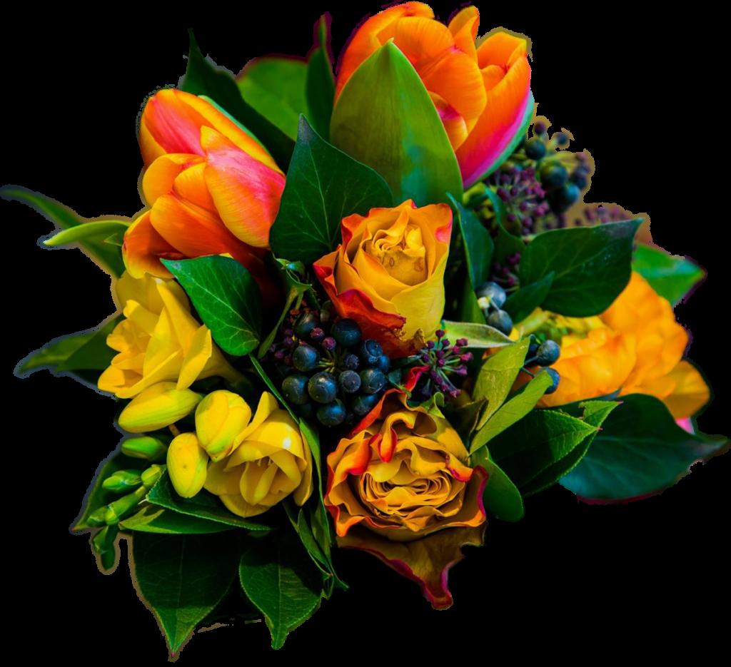 Blumengebinde von Blumen Gauweiler